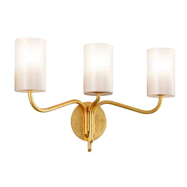 Troy Lighting B7493 Juniper 3lt Vanity in Hand-Worked Iron