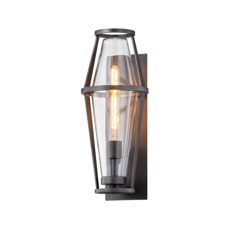 Troy Lighting B7612 Prospect 1lt Wall in Hand-Crafted Aluminum