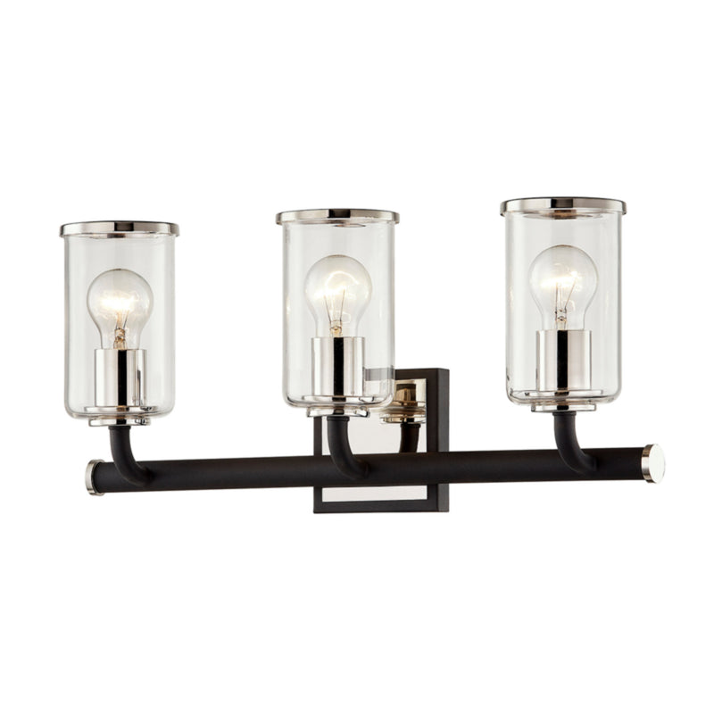 Troy Lighting B7683 Aeon 3lt Vanity in Hand-Worked Iron