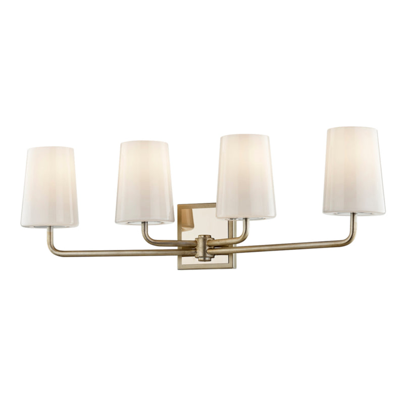 Troy Lighting B7694 Simone 4lt Vanity in Hand-Worked Iron