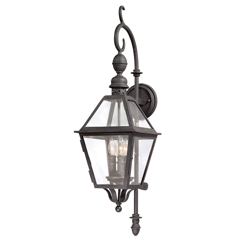 Troy Lighting B9621NB Townsend 3lt Wall Lantern Medium in Hand-Worked Iron