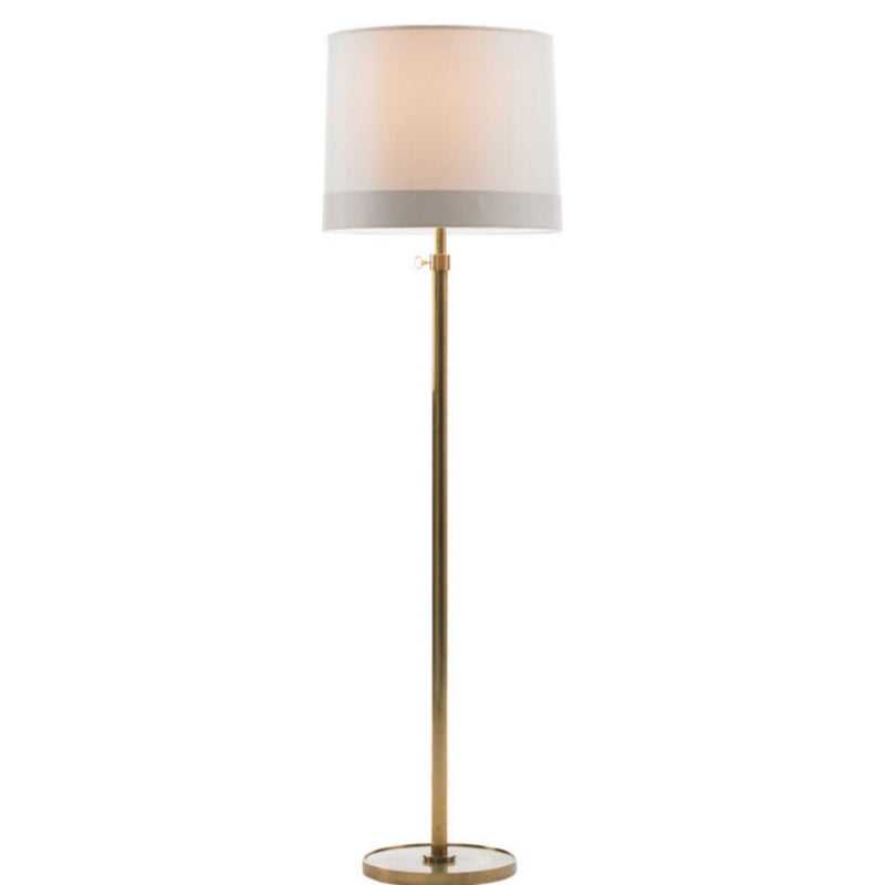 Visual Comfort BBL 1023SB-S2 Barbara Barry Simple Floor Lamp in Soft Brass