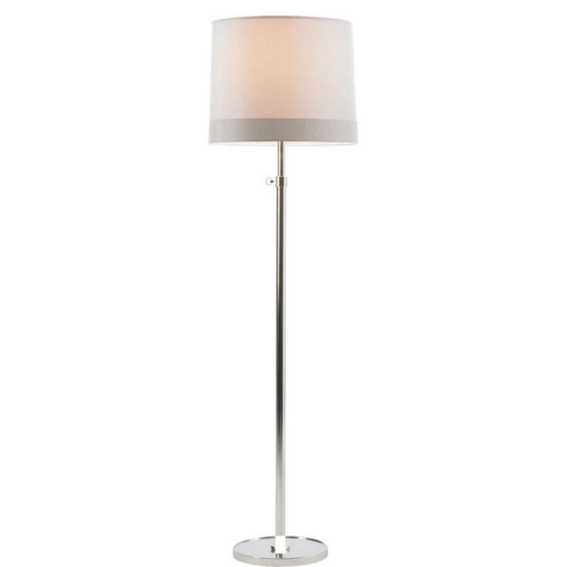 Visual Comfort BBL 1023SS-S2 Barbara Barry Simple Floor Lamp in Soft Silver