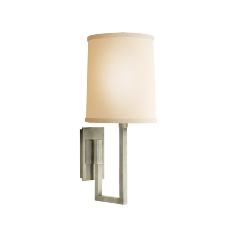 Visual Comfort BBL 2027PWT-L Barbara Barry Aspect Library Sconce in Pewter