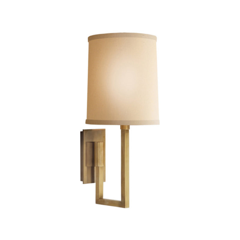 Visual Comfort BBL 2027SB-L Barbara Barry Aspect Library Sconce in Soft Brass