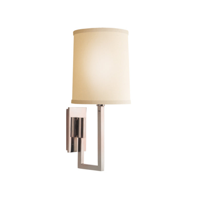 Visual Comfort BBL 2027SS-L Barbara Barry Aspect Library Sconce in Soft Silver