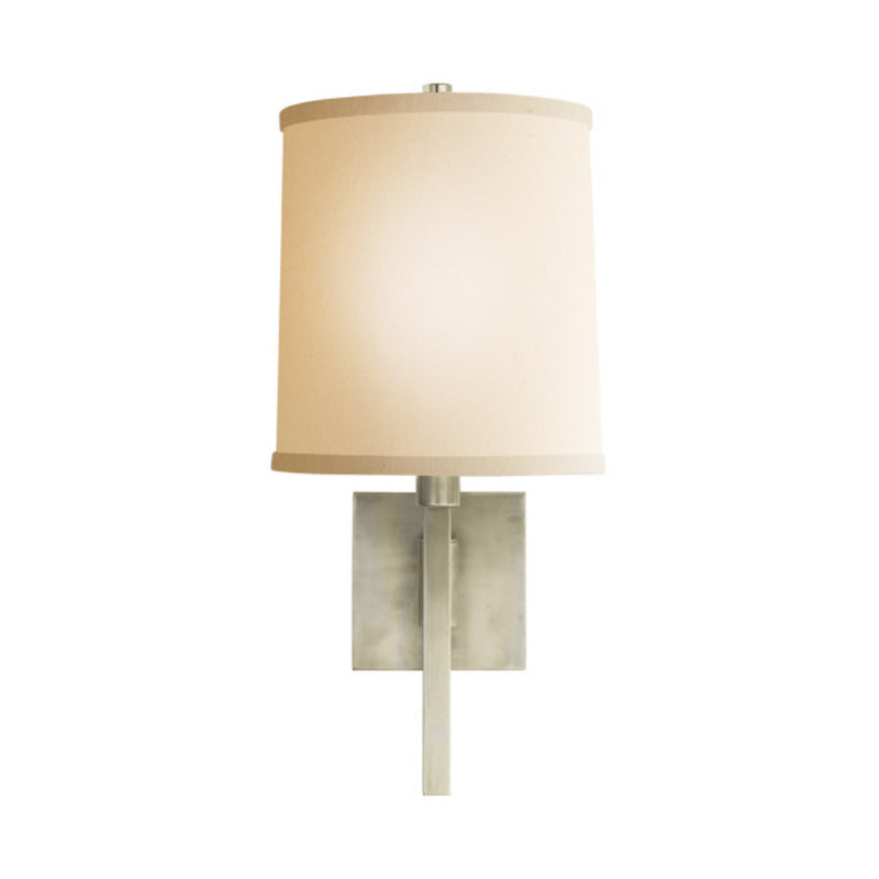 Visual Comfort BBL 2028PWT-L Barbara Barry Aspect Small Articulating Sconce in Pewter