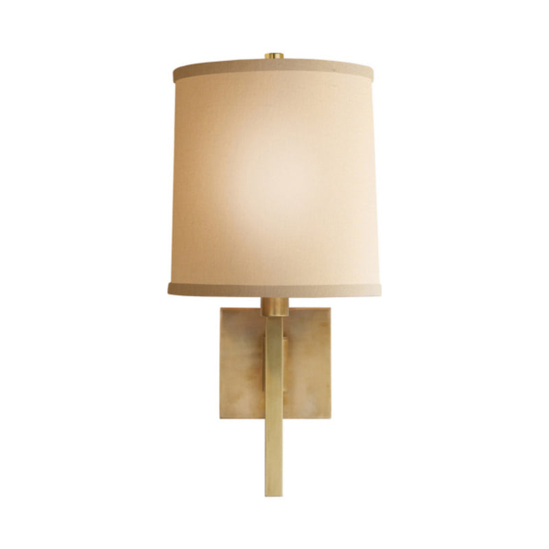 Visual Comfort BBL 2028SB-L Barbara Barry Aspect Small Articulating Sconce in Soft Brass