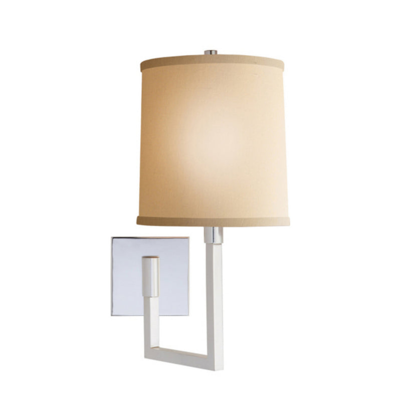 Visual Comfort BBL 2028SS-L Barbara Barry Aspect Small Articulating Sconce in Soft Silver