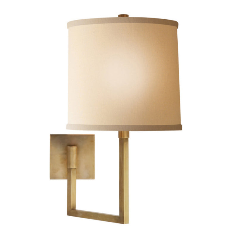 Visual Comfort BBL 2029SB-L Barbara Barry Aspect Large Articulating Sconce in Soft Brass