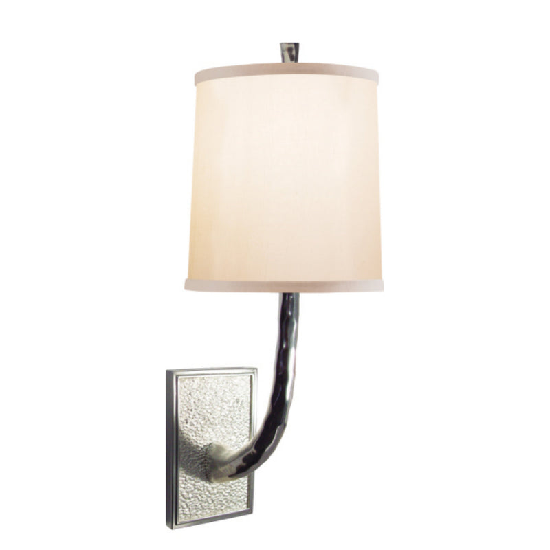 Visual Comfort BBL 2030SS-S Barbara Barry Lyric Branch Sconce in Soft Silver