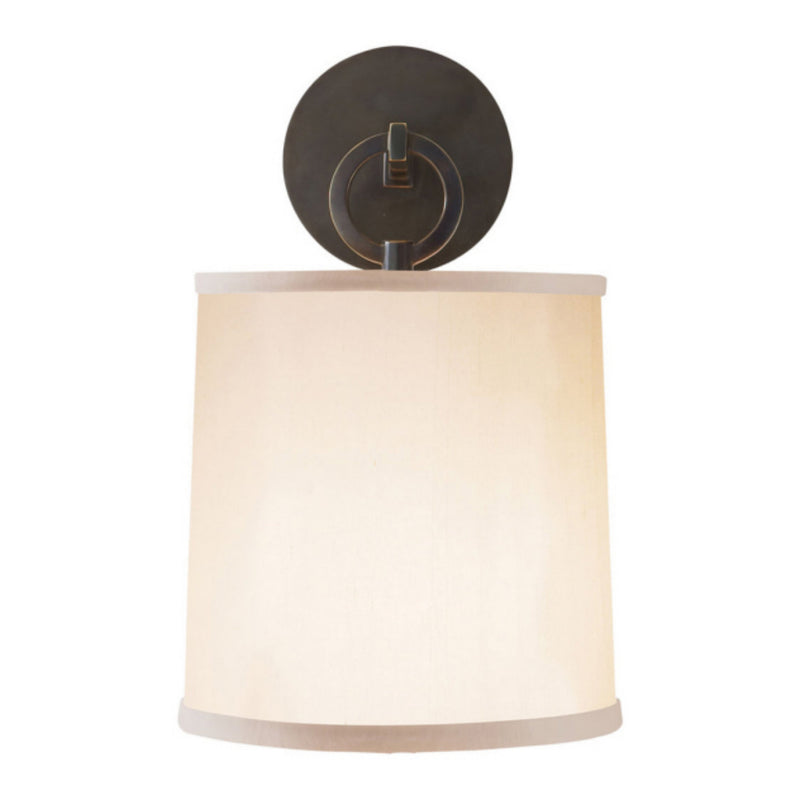 Visual Comfort BBL 2035BZ-S Barbara Barry French Cuff Sconce in Bronze