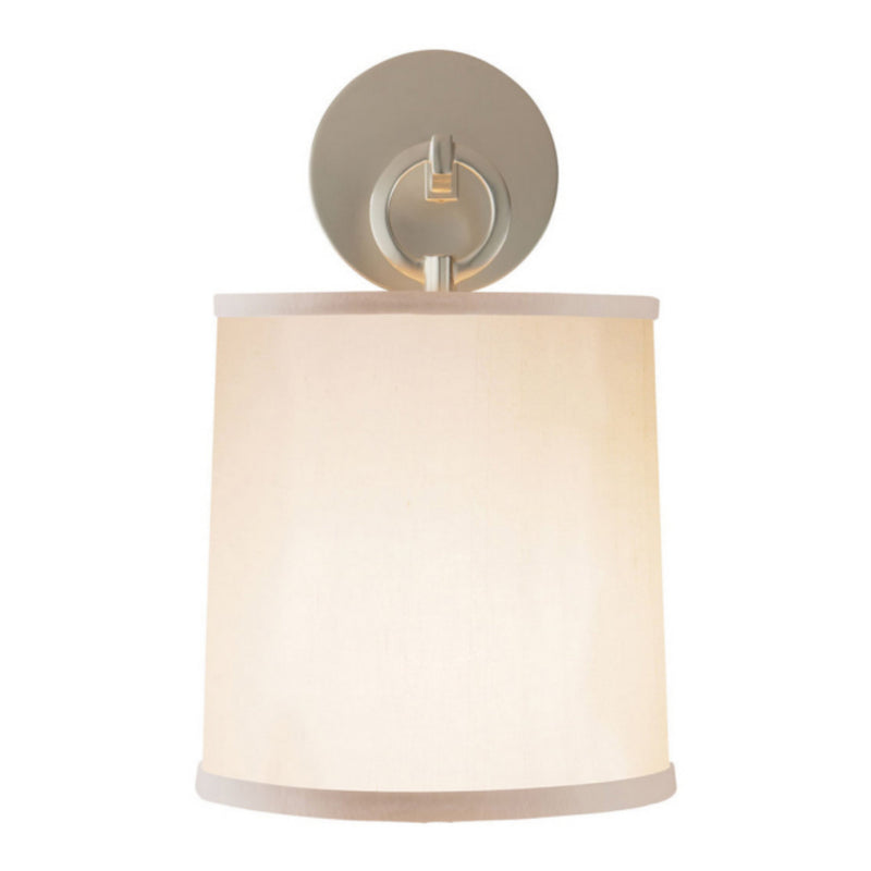 Visual Comfort BBL 2035SS-S Barbara Barry French Cuff Sconce in Soft Silver