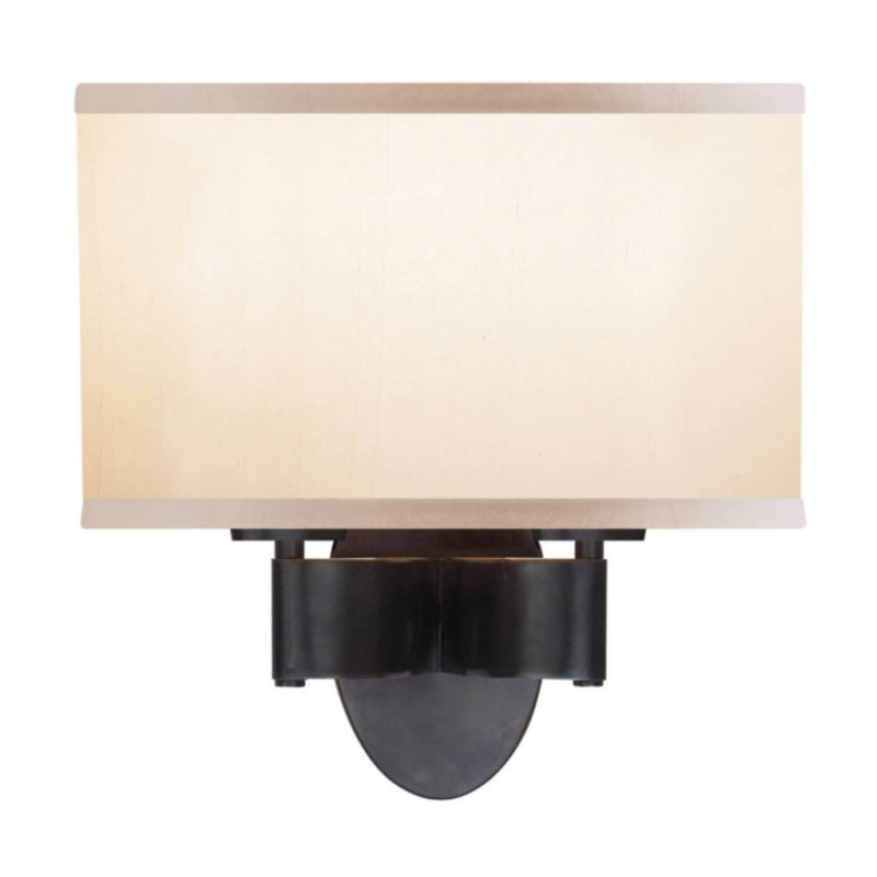 Visual Comfort BBL 2039BZ-S Barbara Barry Graceful Ribbon Double Sconce in Bronze