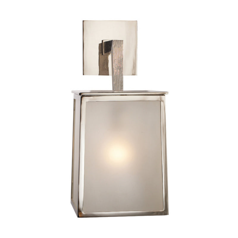 Visual Comfort BBL 2072PN-FG Barbara Barry Ojai Large Sconce in Polished Nickel