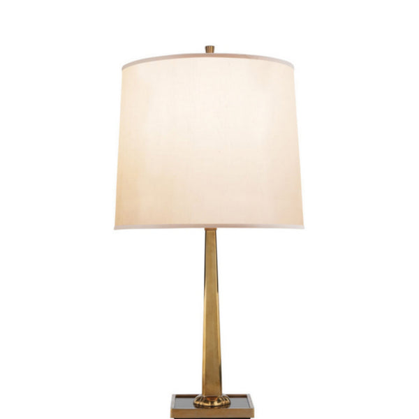 Visual Comfort BBL 3024SB-S Barbara Barry Petal Desk Lamp in Soft Brass