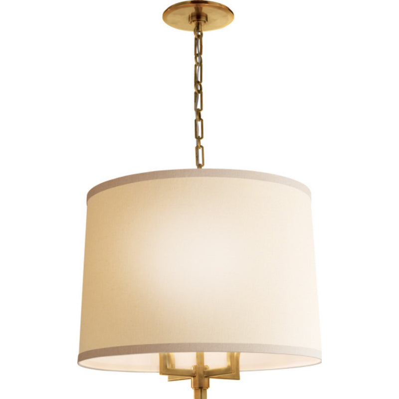 Visual Comfort BBL 5030SB-L Barbara Barry Westport Large Hanging Shade in Soft Brass