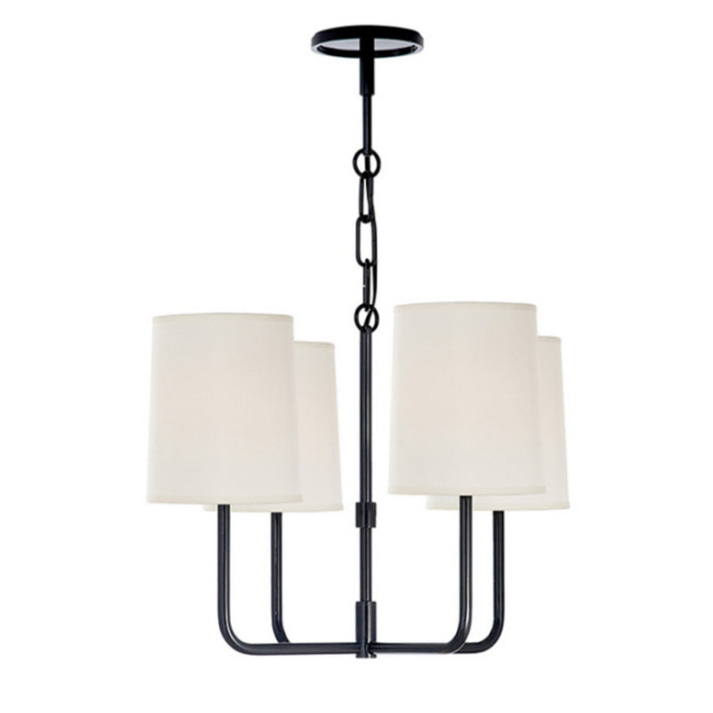 Visual Comfort BBL 5080C-S Barbara Barry Modern Go Lightly Small Chandelier in Charcoal