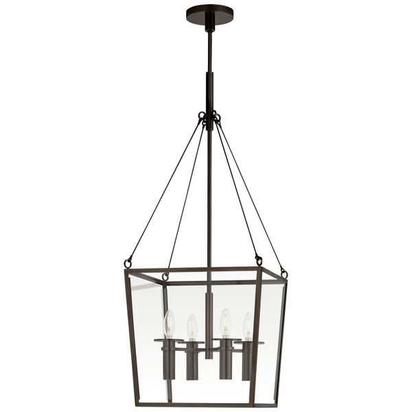 Visual Comfort BBL 5105BZ Barbara Barry Modern Cochere Medium Lantern in Bronze