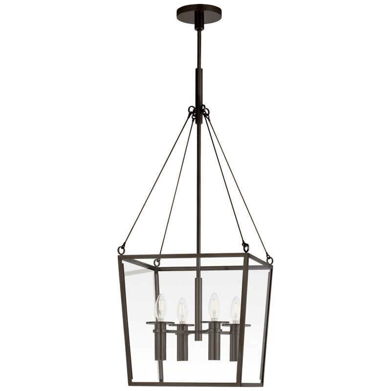 Visual Comfort BBL 5105BZ Barbara Barry Cochere Medium Lantern in Bronze