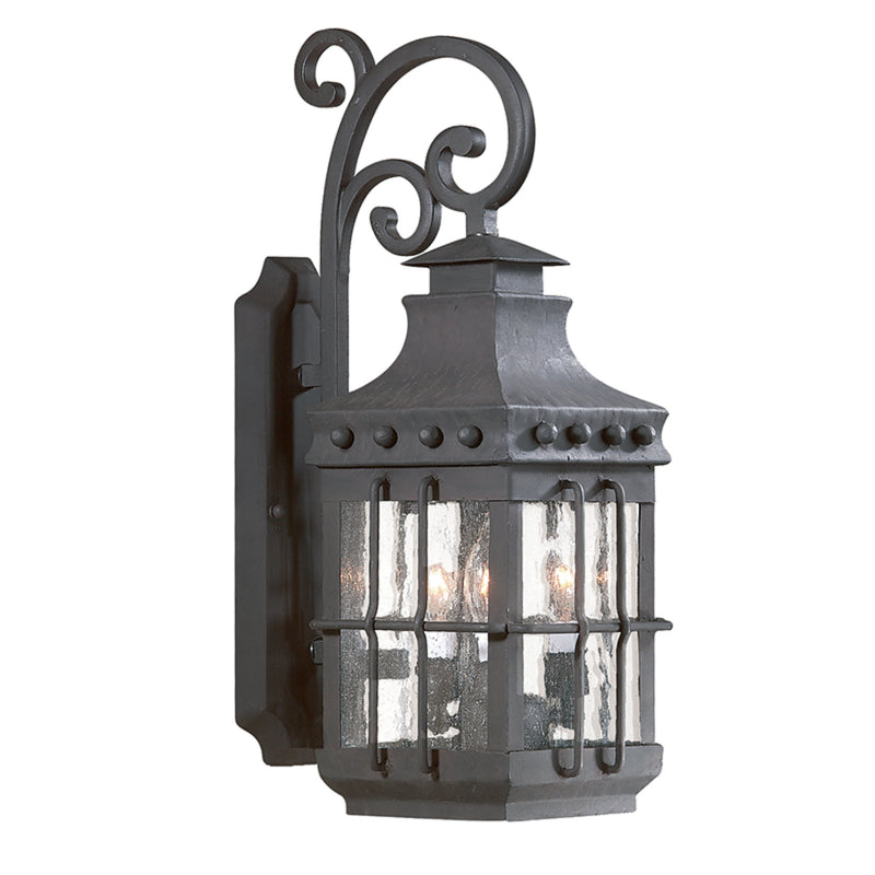 Troy Lighting BCD8971NB Dover 3lt Wall Lantern Medium in