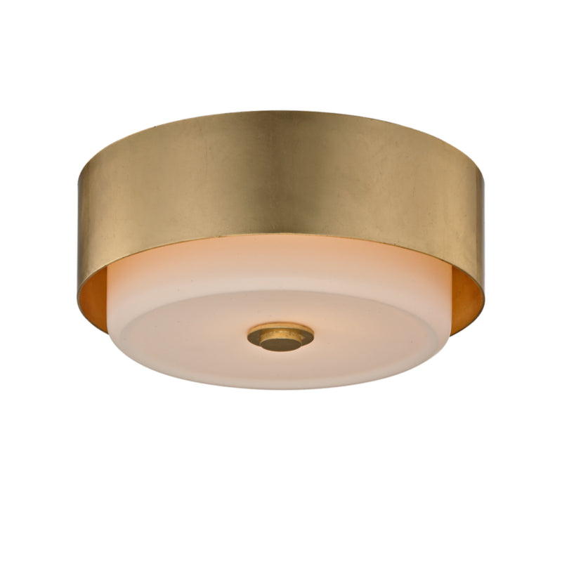 Troy Lighting C5661 Allure 1lt Ceiling Flush in Hand-Worked Iron