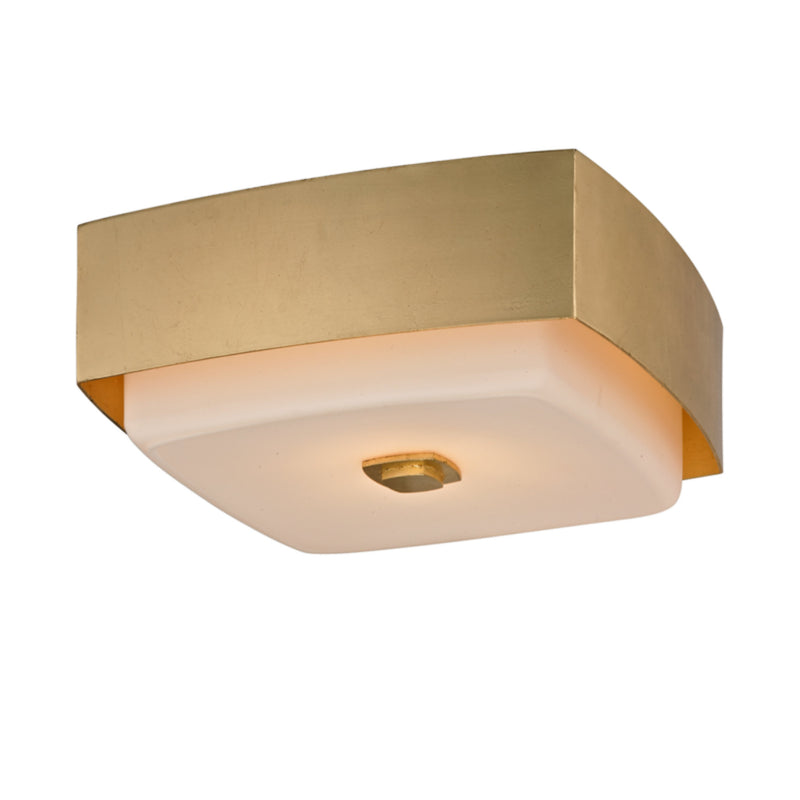 Troy Lighting C5671 Allure 1lt Ceiling Flush in Hand-Worked Iron