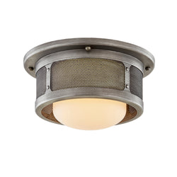 Troy Lighting C7370 Bauer 1lt Ceiling in Hand-Worked Iron