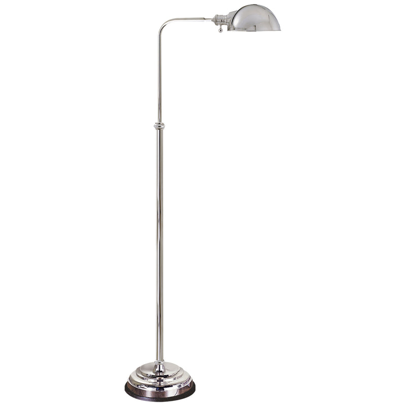 Visual Comfort CHA 9161PN Chapman & Myers Apothecary Floor Lamp in Polished Nickel