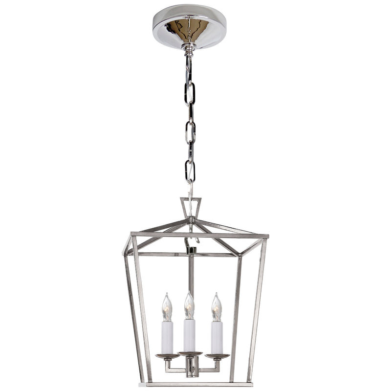 Visual Comfort CHC 2175PN Chapman & Myers Darlana Mini Lantern in Polished Nickel
