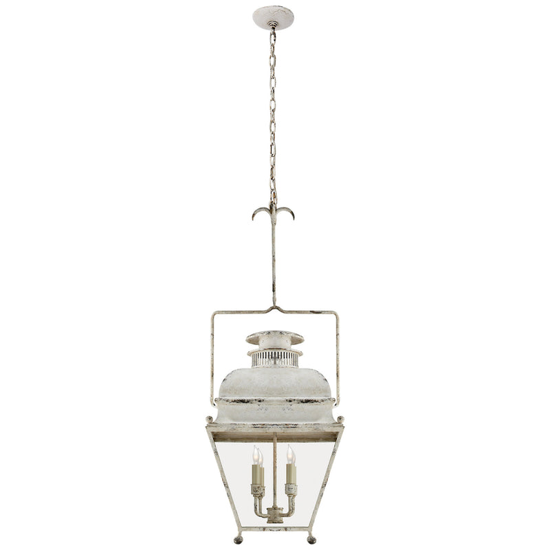 Visual Comfort CHC 2215OW Chapman & Myers Holborn Small Lantern in Old White