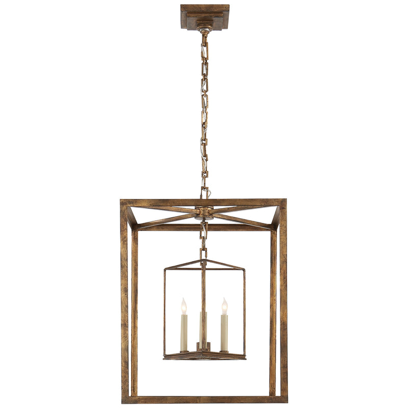 Visual Comfort CHC 2217GI Chapman & Myers Osborne Lantern in Gilded Iron