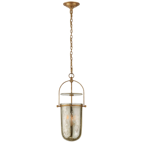 Visual Comfort CHC 2298GI-MG Chapman & Myers Lorford Tall Smoke Bell Lantern in Gilded Iron