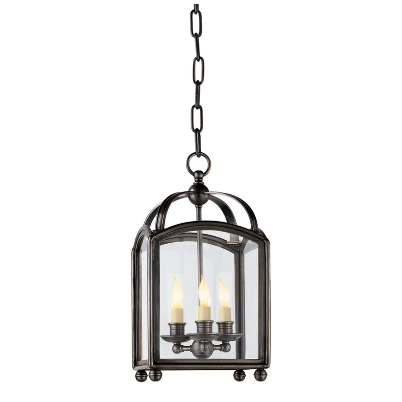 Visual Comfort CHC 3420BZ Chapman & Myers Arch Top Mini Lantern in Bronze