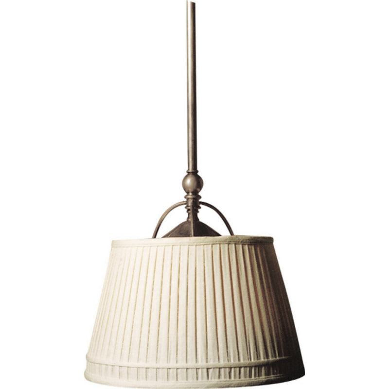 Visual Comfort CHC 5101AN-L Chapman & Myers Sloane Single Shop Light in Antique Nickel