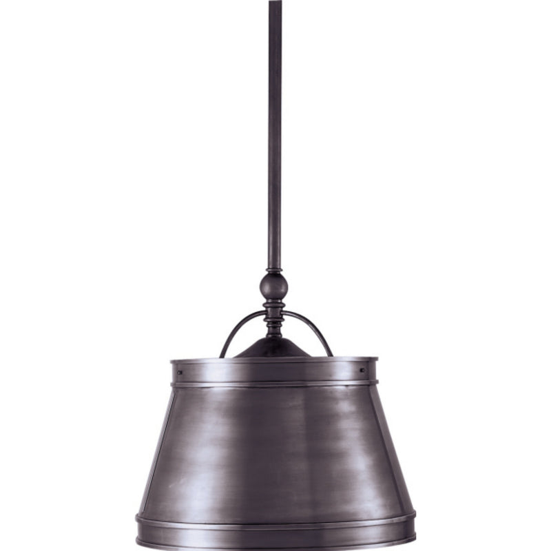 Visual Comfort CHC 5101BZ-BZ Chapman & Myers Sloane Single Shop Light in Bronze