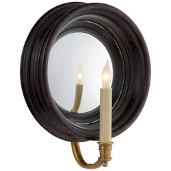 Visual Comfort CHD 1186TB Chapman & Myers Chelsea Medium Reflection Sconce in Tudor Brown Stain