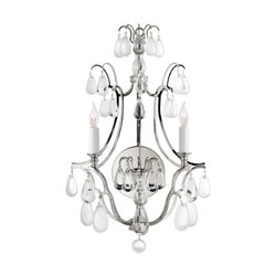 Visual Comfort CHD 1555PN-CG Chapman & Myers Penhurst Sconce in Polished Nickel