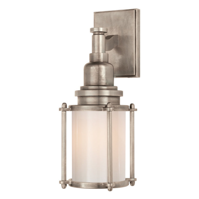 Visual Comfort CHD 2050AN-WG Chapman & Myers Stanway Sconce in Antique Nickel