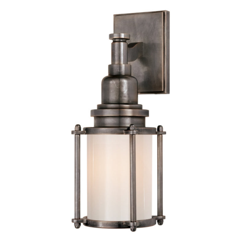 Visual Comfort CHD 2050BZ-WG Chapman & Myers Stanway Sconce in Bronze