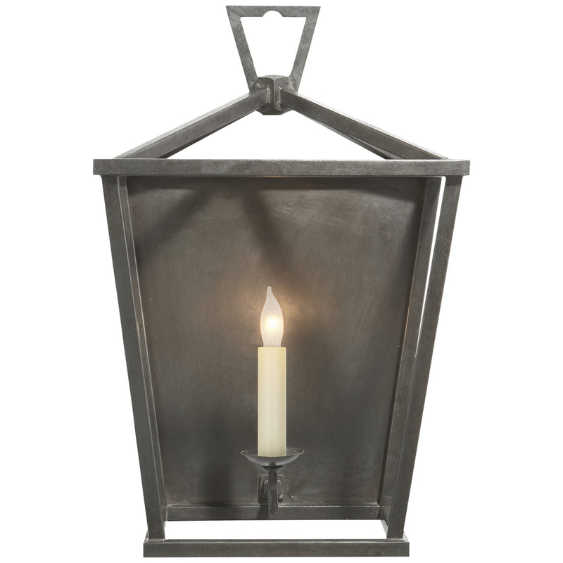 Visual Comfort CHD 2165AI Chapman & Myers Darlana Wall Lantern in Aged Iron