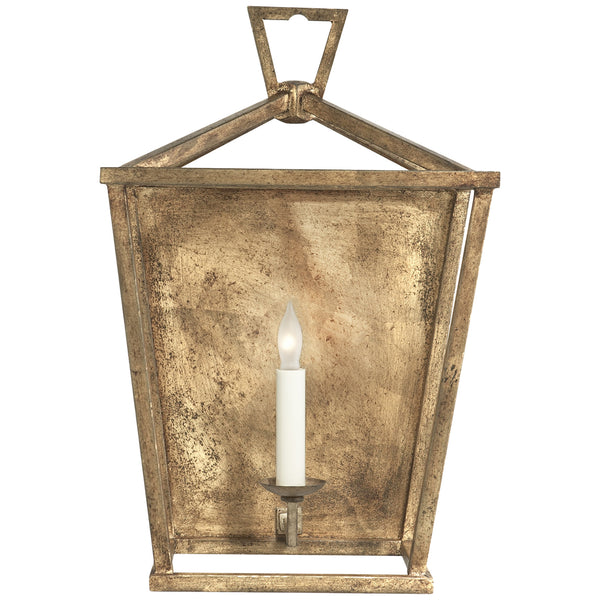 Visual Comfort CHD 2165GI Chapman & Myers Darlana Wall Lantern in Gilded Iron