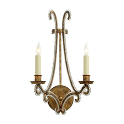 Visual Comfort CHD 2550GI-CG Chapman & Myers Oslo Sconce in Gilded Iron