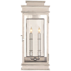Visual Comfort CHD 2910PN Chapman & Myers Linear Lantern Tall in Polished Nickel