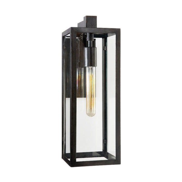 Visual Comfort CHD 2933AI-CG Chapman & Myers Modern Fresno Framed Medium Sconce in Aged Iron