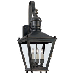 Visual Comfort CHO 2031BZ Chapman & Myers Sussex Small Bracket Lantern in Bronze