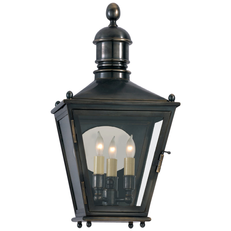 Visual Comfort CHO 2034BZ Chapman & Myers Sussex Small 3/4 Lantern in Bronze