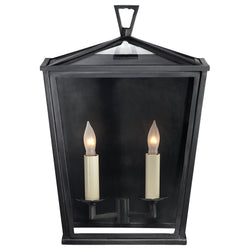 Visual Comfort CHO 2040BZ Chapman & Myers Darlana Small 3/4 Lantern in Bronze