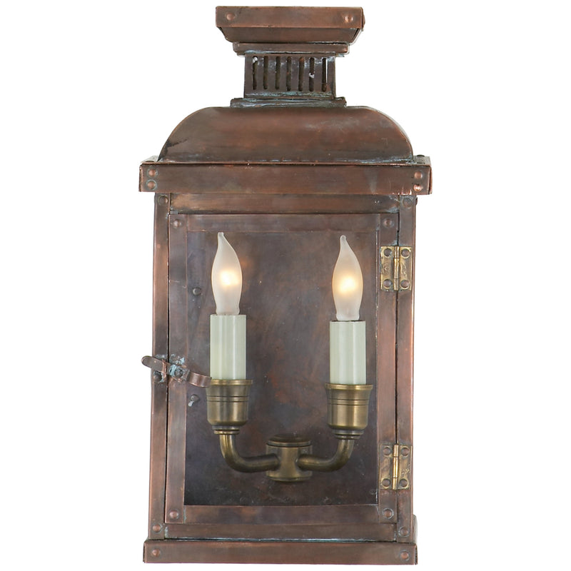 Visual Comfort CHO 2060NC Chapman & Myers Suffork Small 3/4 Lantern in Natural Copper