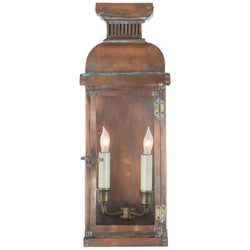 Visual Comfort CHO 2063NC Chapman & Myers Suffork Medium 3/4 Lantern in Natural Copper
